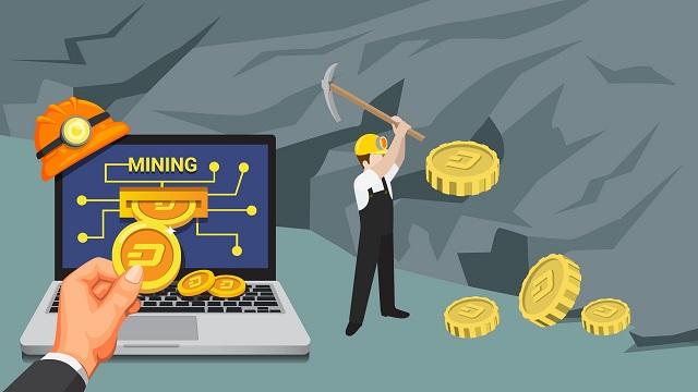 Phương thức khai thác DASH không khác là bao so với việc đào Bitcoin