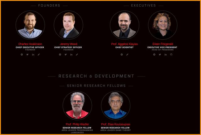 Đội ngũ phát triển của dự án hiện tại có tổng cộng là 3 tổ chức khác nhau
