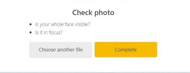 Kiểm tra lại hình ảnh Selfie