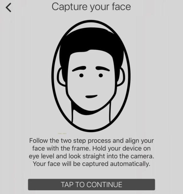 Tiến hành xác minh với khuôn mặt để hoàn tất KYC